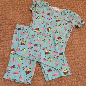 Super cute Flamingo Pjs from Carters! Euc!